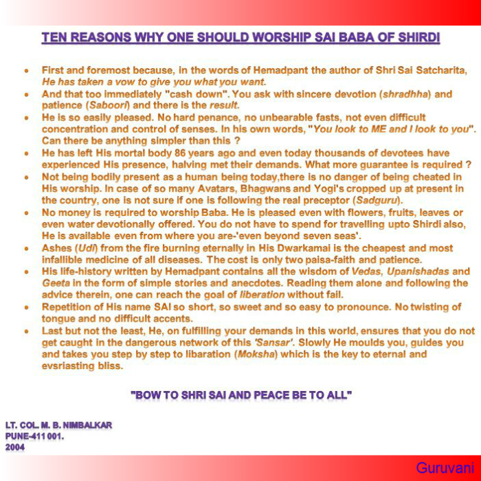 Ten Reasons to Pray Baba2